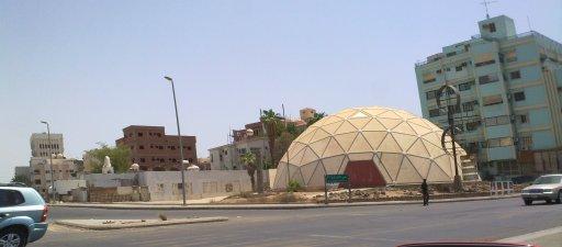 Jeddah Dome كأطلال تذروها الرياح!