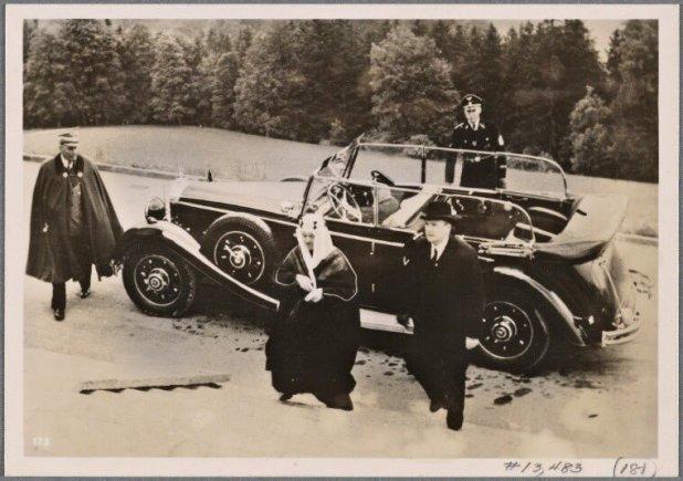 خالد الهود ١٩٣٩ مع هتلر